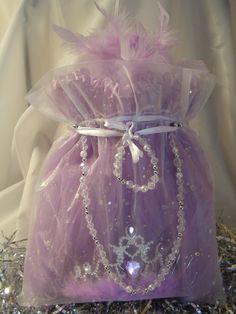 Princess Birthday Party Favor Ideas. 5 Pc Lilac Sparkle Tutu Cute Bag. Shop for Princess party Favors at http://www.myprincesspartytogo.com #princesspartyfavorideas #princessbirthdaypartyfavorideas