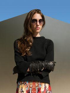 Schnittmuster: Jumper - Shirt, 3/4-Arm - Shirts - Damen - burda style