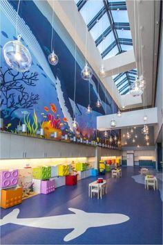 Hospital infantil ludico, decoração de hospital infantil, decoração para criança