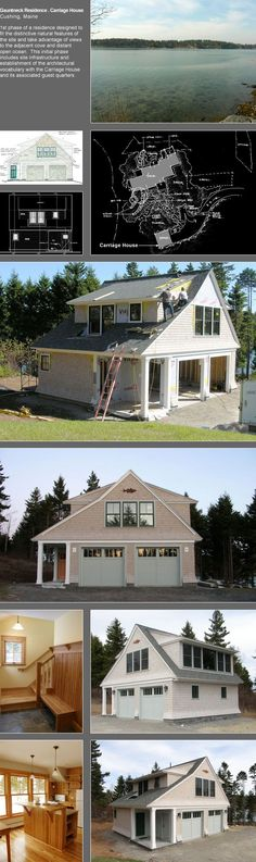 Whitten Architects: New England Home and Maine Cottage Design Architects - In the Works Full - Gauntneck Residence . Carriage House