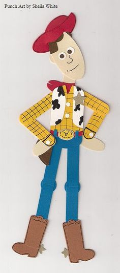 Woody punch art. - what about that for the future room? Toy story is sooooo cute!