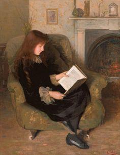 women reading | Biblioklept /// Florence Fuller