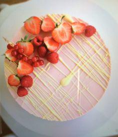 Strawberries White chocolate