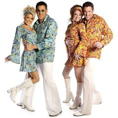 Leg Avenue 6-14 SALE Groovy Retro Peace Costume 60/'s /& 70/'s Costume Hippie