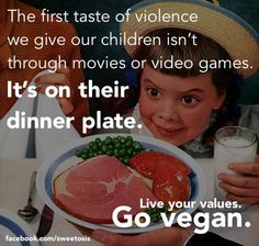 live your values, go #vegan for cruelty-free dining
