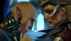Dragon Age Fanart: Solas and Flemeth by AgentKnopf on DeviantArt