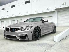 BMW F83 M4 cabrio grey