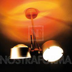 Top Light Puk Side Easy Twin Wand- oder Deckenleuchte, LED » NOSTRAFORMA Design-Shop für Leuchten & Lampen