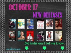 October 17, 2017 New Releases