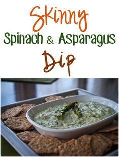 Skinny Spinach and Asparagus Dip Recipe