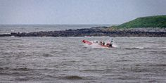 Skerries RNLI responds to kite surfer in distress