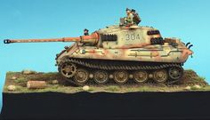 킹타이거 | 프라모델 스케일모형 갤러리 | 루리웹 모바일 Tiger Ii, Model Tanks, Military Modelling, Scale Models, Vignettes, Military Vehicles, Wwii, Modeling, Diorama Ideas