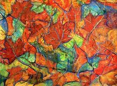 images of fall art projects   http://www.dagworks.com/art/trees/birthdaygift.jpg craypas and ...