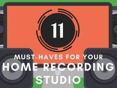 Home Recording Studio Equipment - Header Image