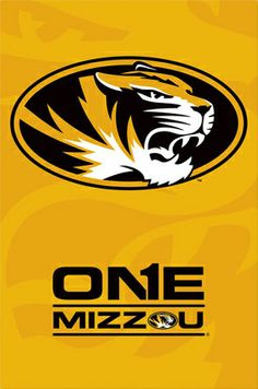 mizzou tigers | University of MISSOURI TIGERS ONE MIZZOU Commemorative Team Logo ...