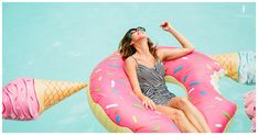 Sydne Style rounds up the best pool floats for summer 2017 with donut floatie Pool Floats For Adults, Cool Pool Floats, Float Pool, Babe, Summer Is Coming, Silhouette, Summer Essentials, Summer Fun, Summer Goals