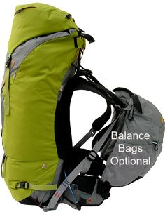 //  This twin compartment, streamlined hiking and climbing pack will easily hold a week's gear. FEAT #aarnusa