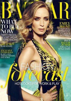 Emily Blunt- November 2012- Harper's Bazaar Australia