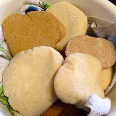 Receita completa de Pão Pita (pão sírio) fofo e muito saboroso!!!