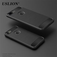 Case For iPhone 5 5s 6 6s Plus 7 7 Plus SE Case Luxury Carbon Fiber TPU Drawing Shockproof For iPhone 5 6 Plus 7 Back Cover Bags