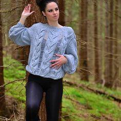 Ja spravím- Sweater big gray za 139€   Jaspravim.sk Pullover, Gray, Big, Sweaters, Fashion, Moda, Fashion Styles, Grey, Sweater