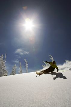 Prime Testing Conditions #ski #outdoor