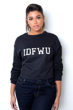 "Rebdolls ""IDFWU"" Sweatshirt – REBDOLLS"