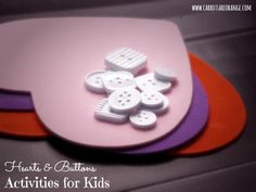 Valentine Heart Activities for Preschoolers