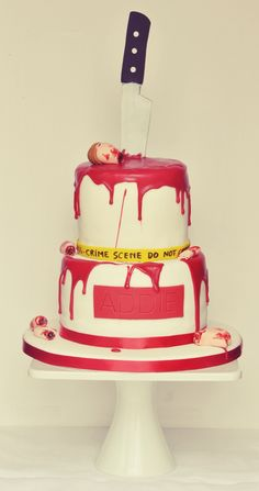 Serial Killer cake by Be Sweet by Maria