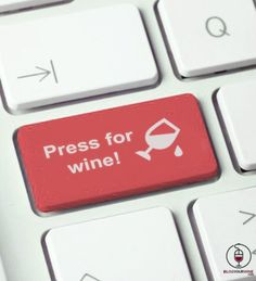 We need this keyboard! #wine