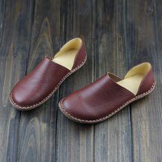 Barato Mori menina sapatos feitos à mão plana genuíno sapatos de marca Lether Casual Slip on sapatos das senhoras mocassim calçados ( 500680   6 ), Compro Qualidade Sapato baixo diretamente de fornecedores da China:                   2015 recomendo sapatos baixos                             Obras de arte feitas à mão/top de couro de q