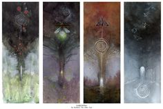 Love this for both my affinity to trees and to spirals.  Stephanie Pui-Mun Law - Shadowscapes