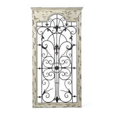 Found it at Wayfair - Gate Wall Décor http://www.wayfair.com/daily-sales/p/Better-Together%3A-Mix-%26-Match-Wall-Decor-Gate-Wall-D%C3%A9cor~WLI2149~E22068.html?refid=SBP.rBAZEVTfvMZOuEmBX4aNApLtL4gbqUYblMbswImAa8c
