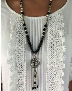 Formal Tops, Casual Tops, Tassel Jewelry, Beaded Jewelry, Boho Fashion, Fashion Dresses, Womens Fashion, Bodice Pattern, Estilo Hippie