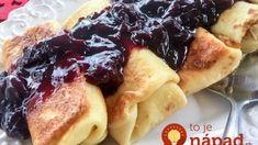 Naleśniki z Serem - Polish Crepes with Cheese - Polish Housewife Polish Desserts, Polish Recipes, Polish Food, Ukrainian Recipes, Russian Recipes, Slovak Recipes, Russian Foods, Thin Pancakes, Farmers Cheese
