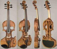 Skull violon