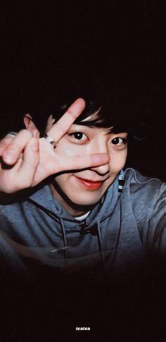 Chanyeol Cute, Park Chanyeol Exo, Kpop Exo, Exo Kai, Kyungsoo, Chansoo, Chanbaek, Exo Lockscreen, Exo Members