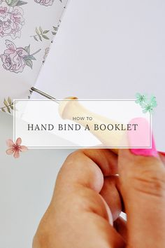 Caylee Grey :: How to Hand Bind a Booklet