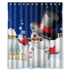 "CozyBath Merry Christmas Waterproof Polyester Fabric 60""(w) x 72""(h) Shower Curtain and Mat Set CozyBath http://www.amazon.com/dp/B00OLBNE2A/ref=cm_sw_r_pi_dp_FPmWvb0GK5257"