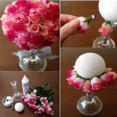 Kwiaty z papieru - Pomyslowi.net