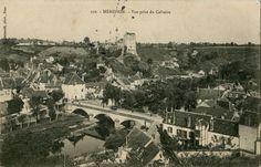 Hérisson (#Allier), patronymes : Lomé / Losmet / Laumet, Parillaux #généalogie #challengeAZ #cartepostale #oldpostcard #cartepostaleancienne