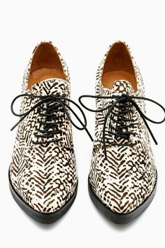 Wesley Oxford by #JeffreyCampbell