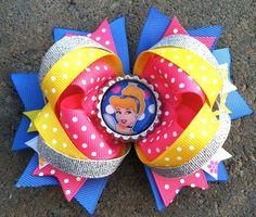 Disney princess boutique bow