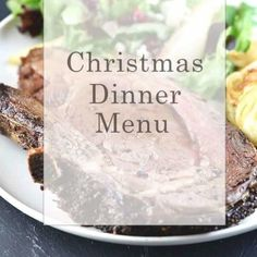 Christmas Dinner Menu with Tips for Making as Much Ahead as Possible! While our Christmas dinner menu may change slightly from year to year, it is always a meal that I love hosting for my family. Easy Christmas Dinner, Christmas Cooking, Holiday Dinner, Christmas Treats, Christmas Holidays, Christmas Parties, Christmas Dinners, Vegan Christmas, Southern Christmas