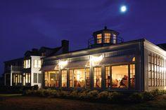 Inn at Perry Cabin restaurant exterior nighttime