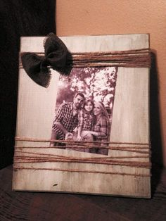 One of our Large 5X7 Barn Wood Distressed Picture Frames
