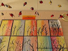 Kompozicija I Nijanse Boja 2nd Grade Art, Art Sites, Tea Art, Spring Art, Easter Crafts For Kids, Art Lessons, Art For Kids, Art Projects, Arts And Crafts