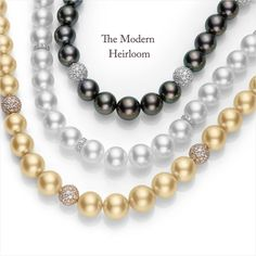 For a look that will last her a lifetime. #Mikimoto #FusionCollection #GiftOfALifetime