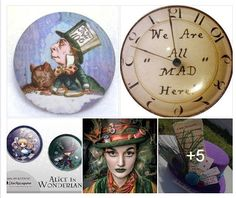 It is official - October 6th is Mad Hatter Day. Mad Hatter Day celebrates the Mad Hatter, from Alice In Wonderland. #buttonlovers