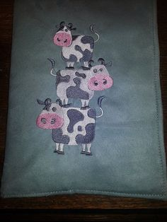 Stacked Cows Composition Notebook Cover by northwildwoodgardens, $14.95